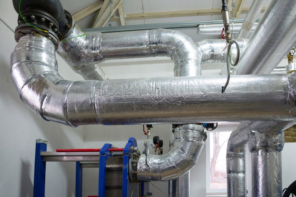 Isoliertechnik, Wärmedämmung, Wärmeschutz